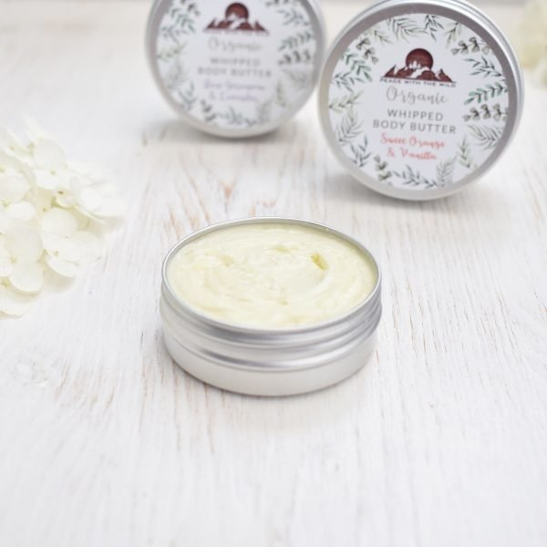 Peace With The Wild Organic Luxury Whipped Body Butter Open