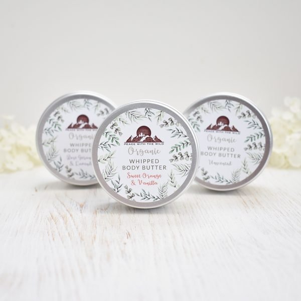 Peace With The Wild Set of 3 Organic Luxury Whipped Body Butters