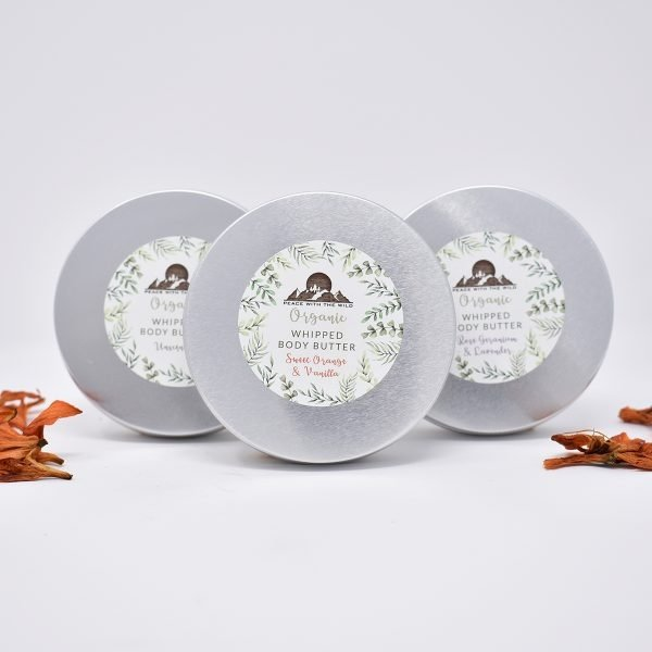 Peace With The Wild Organic Luxury Whipped Body Butter Tins