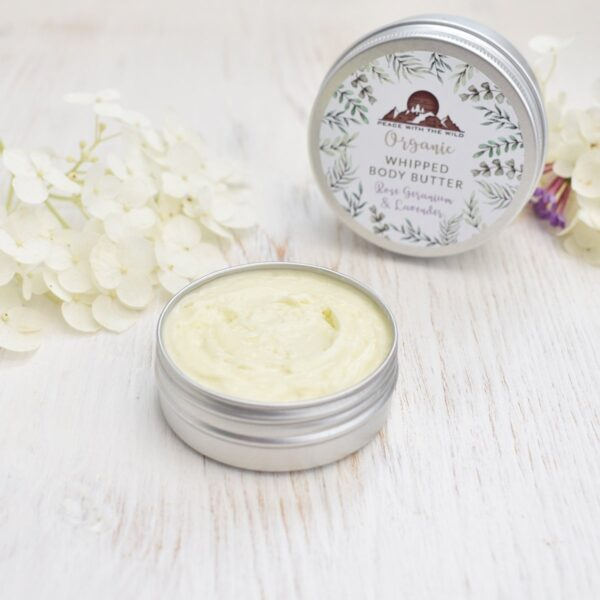Peace With The Wild Organic Whipped Body Cream Rose
