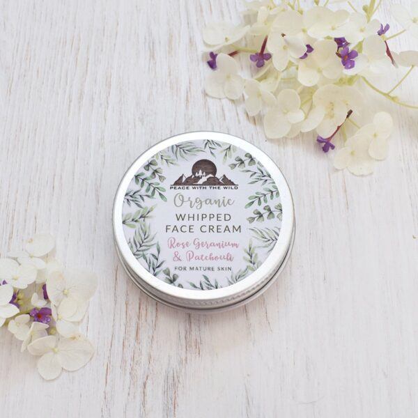 Peace With The Wild Organic Whipped Face Cream For Mature Skin Tin