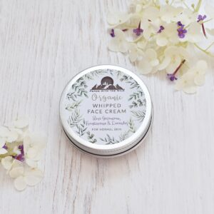 Peace With The Wild Rose Geranium, Frankincense & Lavender Organic Whipped Face Cream For Normal Skin
