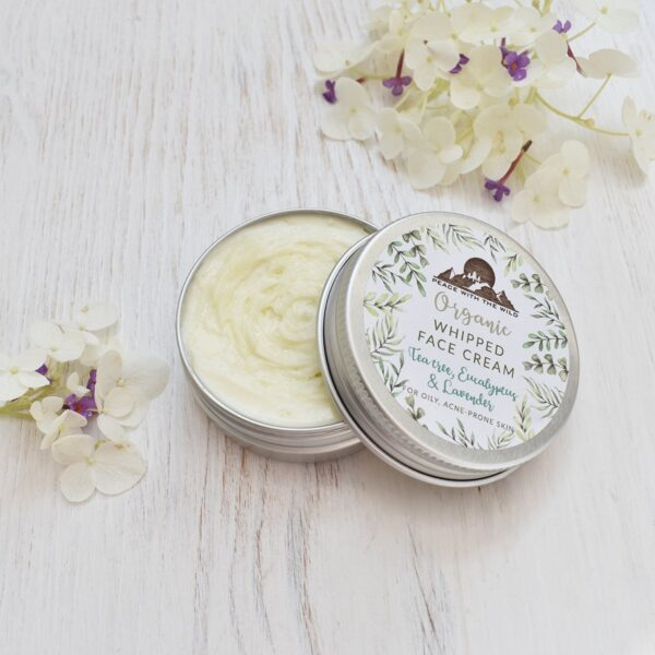 Peace With The Wild Tea Tree Organic Whipped Face Cream For Oily Skin