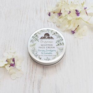 Peace With The Wild Tea Tree Organic Whipped Face Cream For Oily Skin Tin