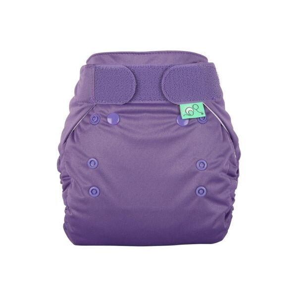 Totsbots Purple Sugar Plum PeeNut Cloth Nappy Wrap