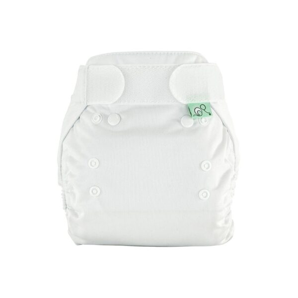 Totsbots White PeeNut Cloth Nappy Wrap