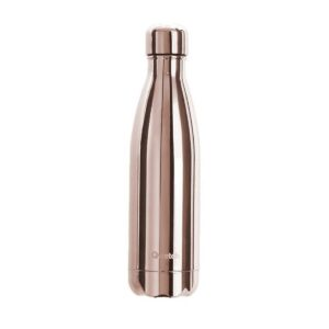 Qwetch Rose Gold Stainless Steel Water Bottle