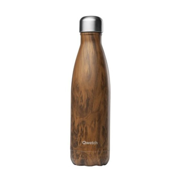 Qwetch Wood Stainless Steel Bottle