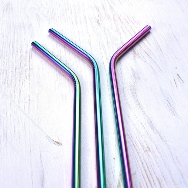 Nature & My Rainbow Stainless Steel Straws