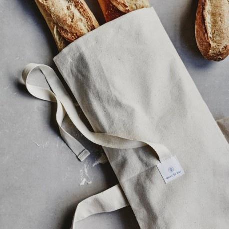 Dans Le Sac Cotton Baguette Bag With Bread