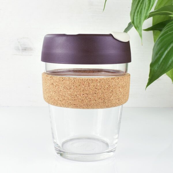 KeepCup Almond Glass Coffee Cup