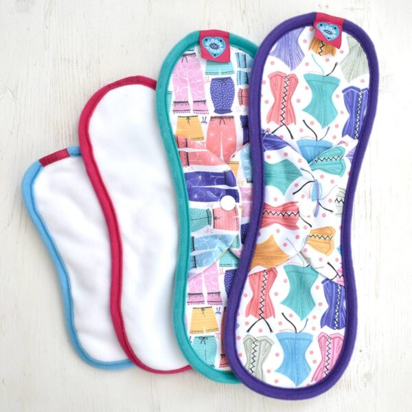 bloom & nora , bloom and nora, Reusable Sanitary Pads , Nora,