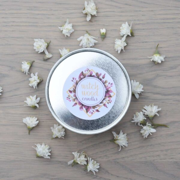 Witchwood Rose & Vanilla Soy Wax Candle Lid