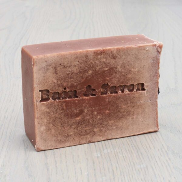 Bain & Savon, Bain and Savon , Rose Hip and Coconut Facial Soap Bar, cleansing facial soap, vegan-friendly, natural, plastic-free, bio-degradable, handmade, anti inflammatory,