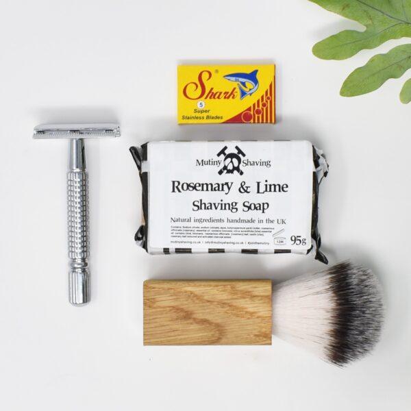 Mutiny Mini Safety Razor Kit – Rosemary & Lime