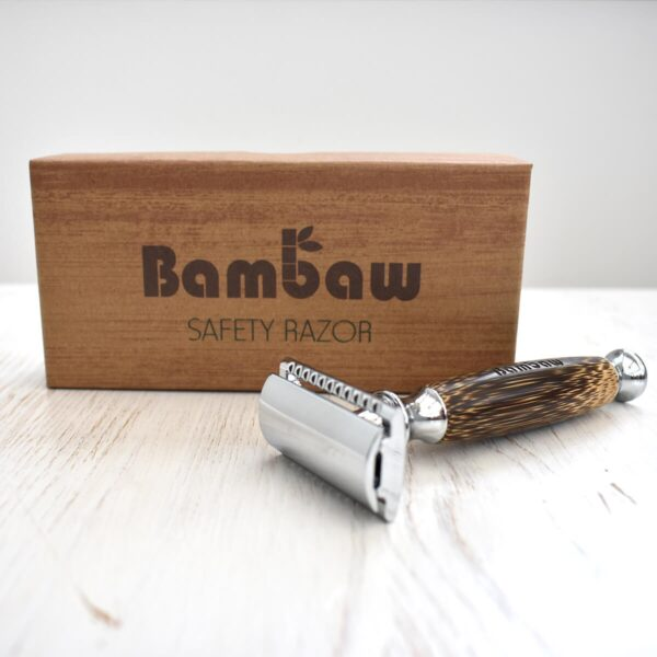 Bambaw Bamboo Double Edge Safety Razor With Box