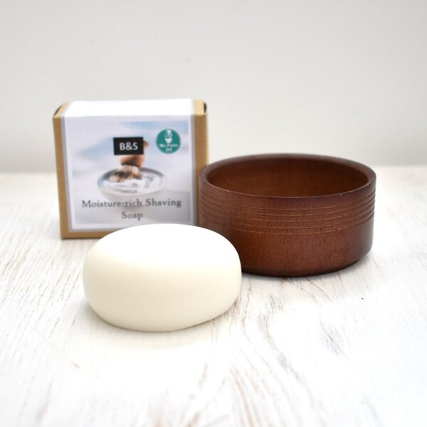 Bain & Savon Moisture Rich Shaving Soap & Dish Set