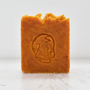 Primal Suds Skull Suddery Orange Soap Bar