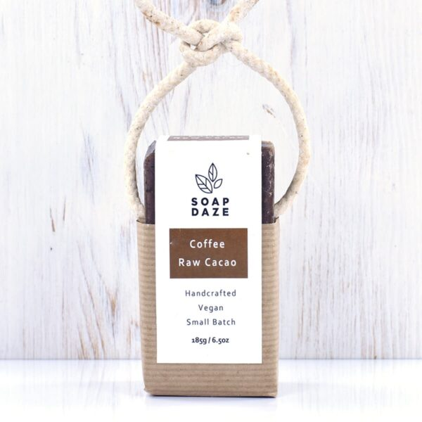 Soap Daze Coffee & Raw Cacoa Soap On A Rope