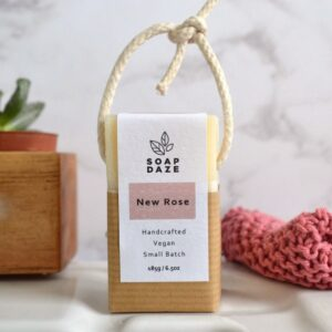 Soap Daze New Rose Soap On A Rope