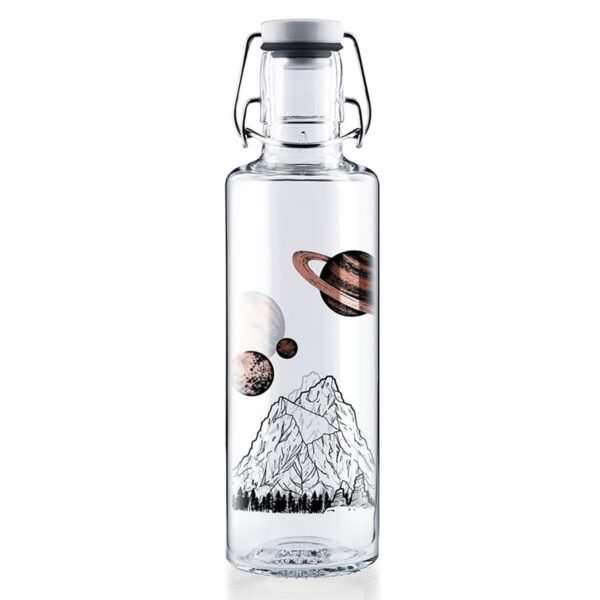 Soul Planets Glass Water Bottle