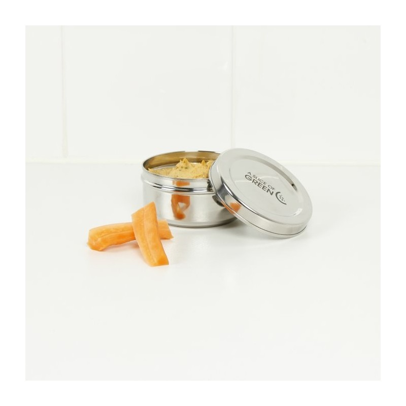 Stainless Steel Round Mini Food Container