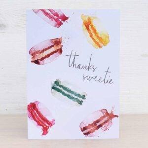 Stefanie Lau Eco-friendly Greetings Card Thanks Sweetie