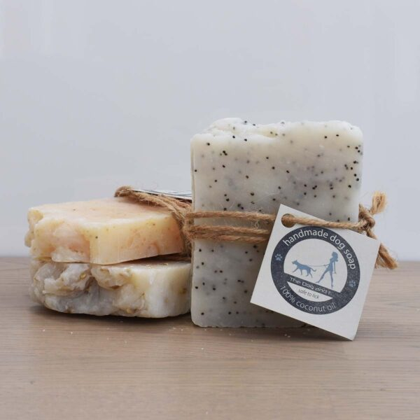 The Dog And I Set Of 3 Coconut Oil Dog Shampoo Bars