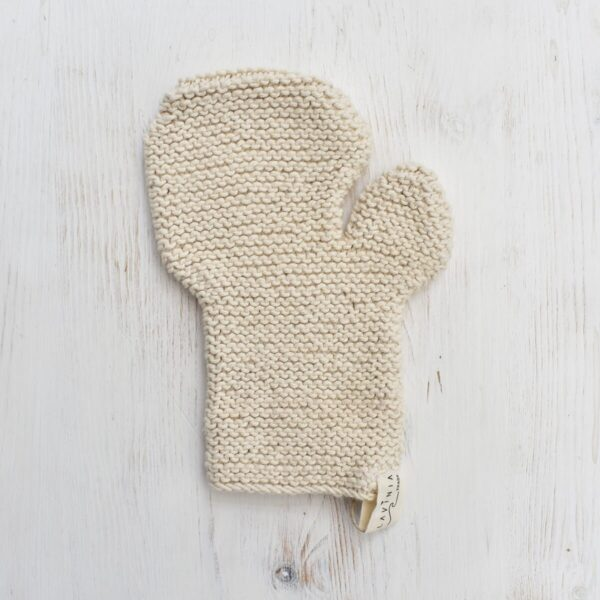 Toockies Hand knitted Exfoliation Glove
