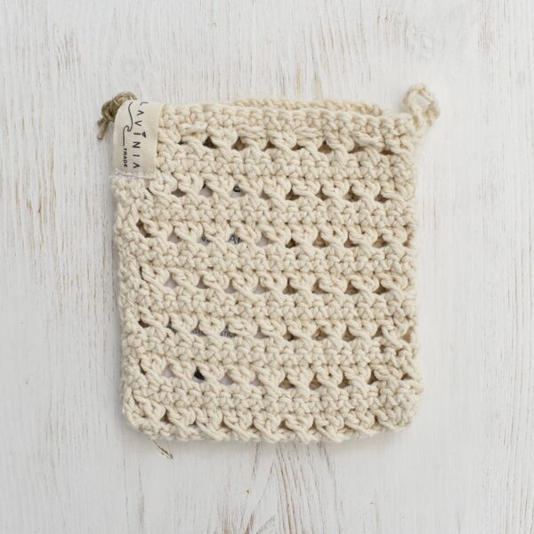 Toockies Hand knitted Exfoliating Soap Pouch