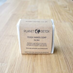 Planet Detox Tough Hands Tea Tree Soap Bar
