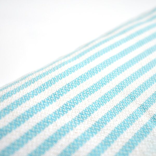 Ebb Flow Cornwall Turquoise Turkish Towel Quick Dry Towel Close Up