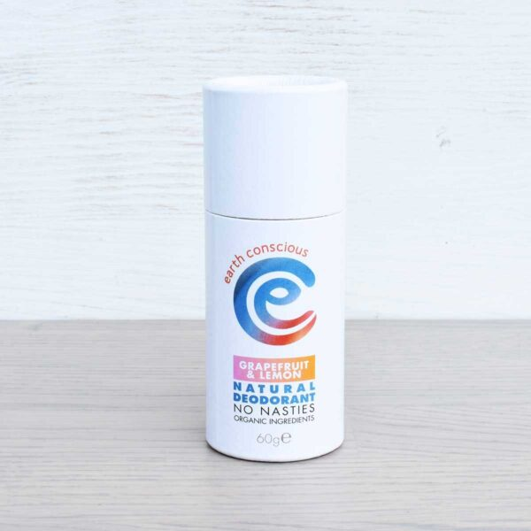 Earth Conscious Grapefruit & Lemon Natural Deodorant Stick