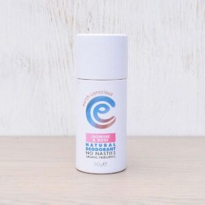 Earth Conscious Jasmine & Rose Natural Deodorant Stick