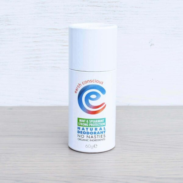 Earth Conscious Mint & Spearmint Natural Deodorant Stick