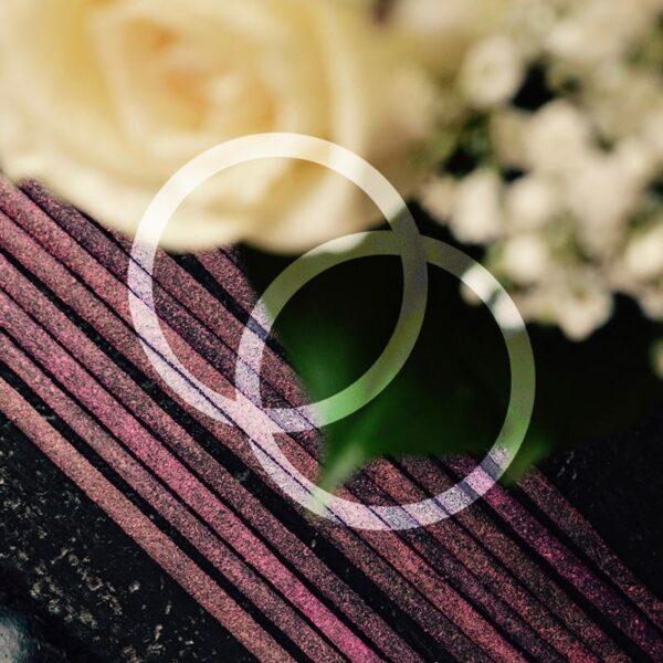 Sacred Elephant Rose Hand Rolled Incense Sticks