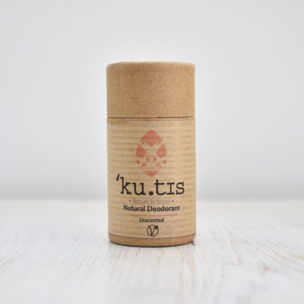Kutis Unscented Natural Deodorant Stick