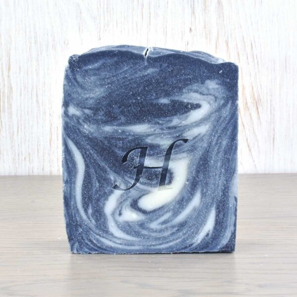 Hatton Handmade Soap bar, charcoal soap bar, vegan friendly, plastic-free,