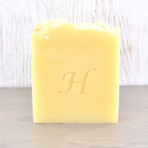 Hatton Handmade Soap bar, lemon and cedar wood soap bar, vegan friendly, plastic-free,