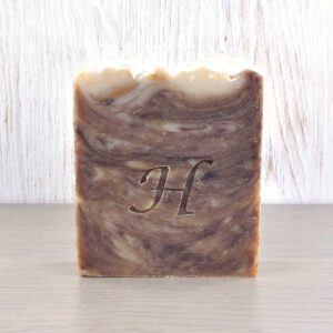 Hatton Handmade Soap bar, sandalwood soap bar, vegan friendly, plastic-free,