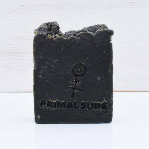 Primal Suds Green Grass Soap Bar, exfoliating soap bar,