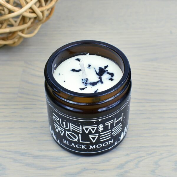 Run With Wolves Black Moon Soy Wax Candle 60ml