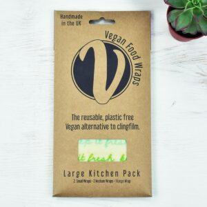 Vegan Food Wraps Vegan Wax Wraps Large Kitchen Pack