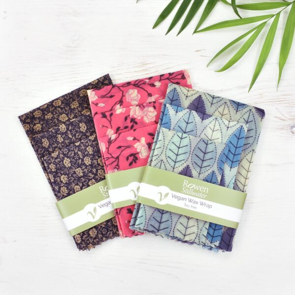 Rowen Stillwater 3 Pack Sets Of Vegan Wax Wraps