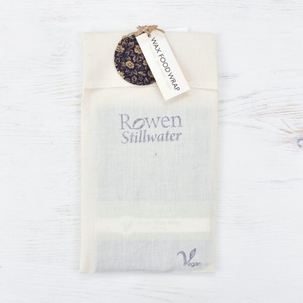 Rowen Stillwater 3 Pack Vegan Wax Wraps In Packaging