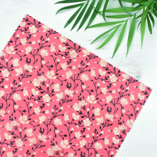 Rowen Stillwater 3 Pack Pink Floral Vegan Wax Wraps