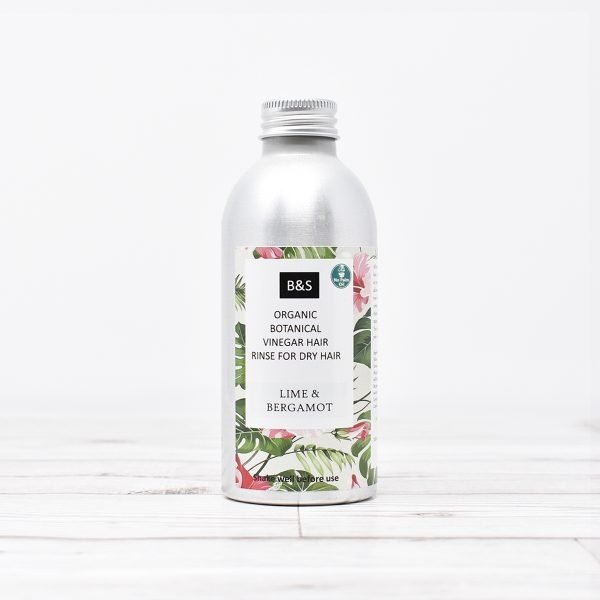 Bain & Savon Organic Vinegar Hair Rinse Dry Hair
