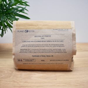 Planet Detox Dish Washing Soap Powder In Packaging