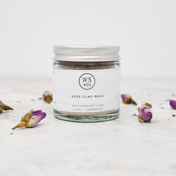 Wild Sage & Co Rose Clay & Honey Face Mask