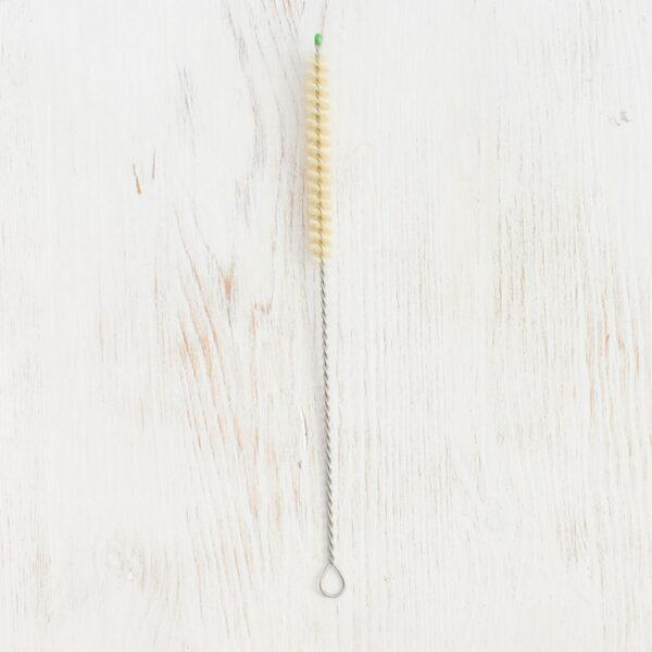 Bunkoza Straw Cleaning Brush Sisal Bristles